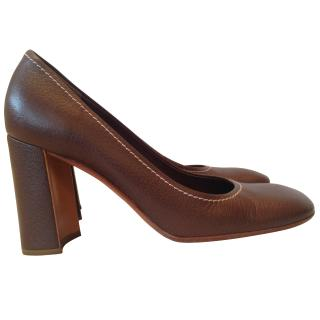 Prada brown pump