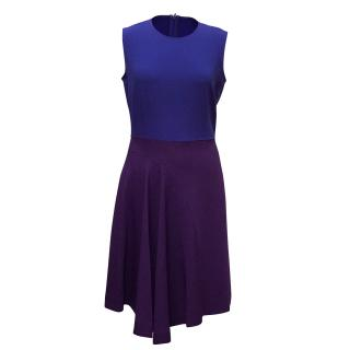 Stella McCartney Blue and Purple Heidi Dress
