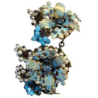 A One off Erickson Beamon couture bracelet