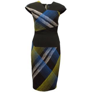 Roland Mouret Black Beadle Dress