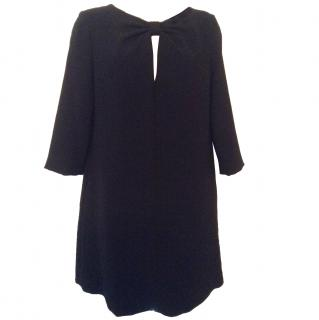 RED Valentino new with tags black lined dress UK 10 EUR 42