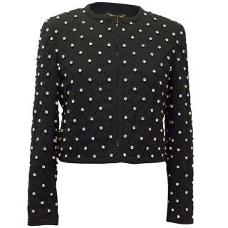 Moschino Couture Black Embellished Jacket