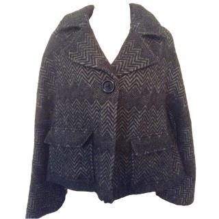 Jaeger wool swing jacket