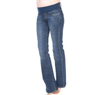 Seraphine Maternity Jeans worn by Jessica Alba