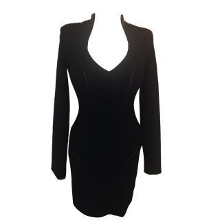 SafiyAA elegant black dress