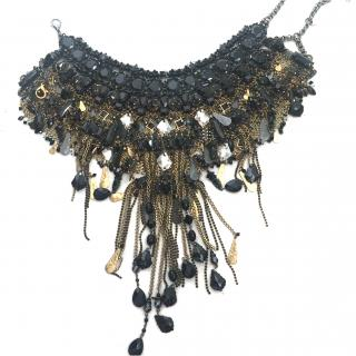 Erickson Beamon black and gold necklace