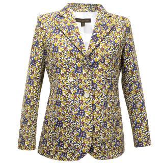 Louis Vuitton floral print jacket/blazer