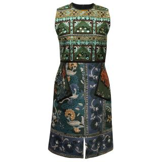 Burberry Patterned A-line dress.