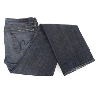 Citizens of Humanity Bootcut Blue Jeans