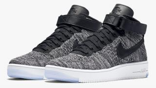 Nike Air Force 1 FlyKnit Grey