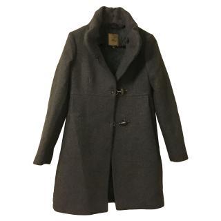Fay Grey Wool Coat