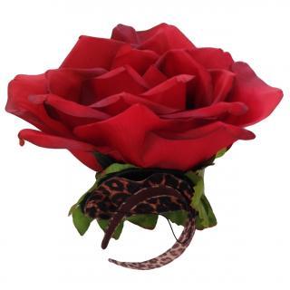 Bespoke Silk Rose Headpiece