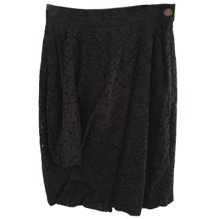Vivienne Westwood Red Label lace gathered skirt