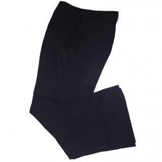 Emporio Armani Blue Tailored Trousers