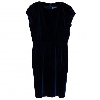 Vintage Thierry Mugler Velvet Cocktail Dress