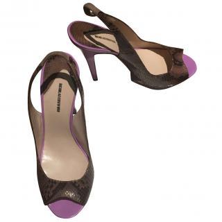 Nicholas Kirkwood Python Sandals