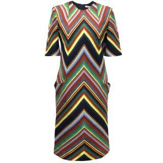 Matthew Williamson Colourful Stripe Dress