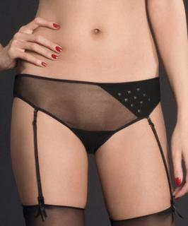Maison Close naked shorty suspenders