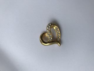 Nina Ricci Vintage Crystal Pendant