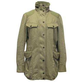 Rag & Bone Khaki Green Parka Jacket
