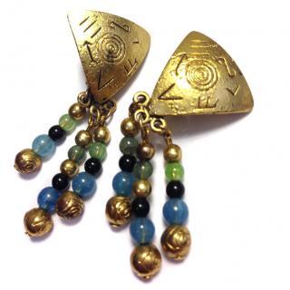 Nina Ricci Tribal  Earrings
