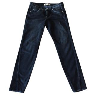 AMO Twist Jeans in Raven Ink