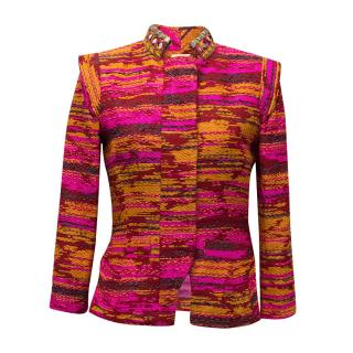 Matthew Williamson Colourful Pink, Orange and Red Jacket