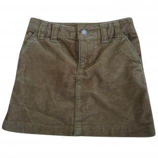RALPH LAUREN Girl's Cord mini skirt