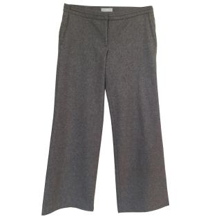 Farhi Grey Wool & Cashmere trousers Size 12