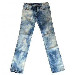 Diesel Bleached Cuddy Jeans