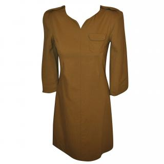See by Chloe Tobacco/ Mustard Coloured Dress