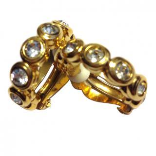 Nina Ricci Runway GP Crystall  Earrings