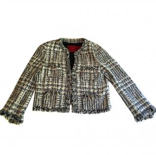 Carolina Herrera Tweed Jacket