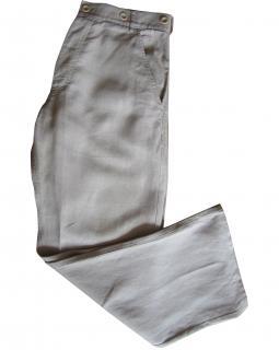 Nicole Fahri Mens Linen Trousers
