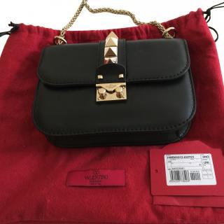 Valentino Lock Small Rockstud Bag