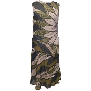 Bottega Veneta Geometric Print Dress