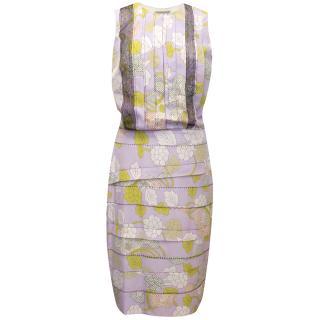 Bottega Veneta Silk Lilac Dress