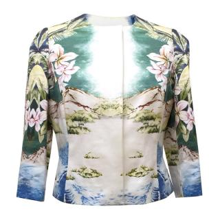 Stella McCartney Cotton Hawaiian Print Jacket