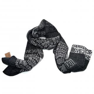 Roberto Cavalli wool scarf