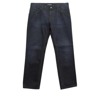 Dolce & Gabbana Dark Blue Denim Jeans