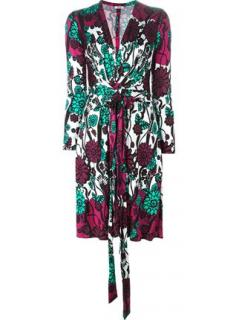Issa London floral print v-neck dress