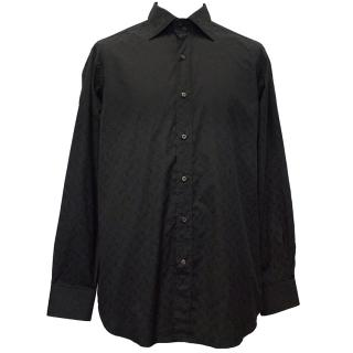 Etro Black Shirt with Print