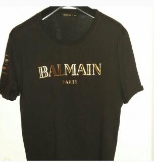 Balmain & H&M collaboration t shirt
