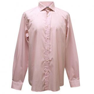 Ralph Lauren Pink Cotton Dress Shirt