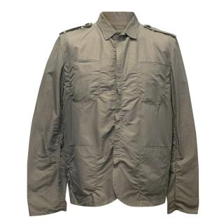 Lanvin Taupe Jacket with Front Pockets