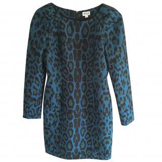 Alice By Temperley Blue Animal Print Dress