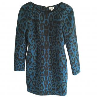 Alice By Temperley Blue Animal Print Dress