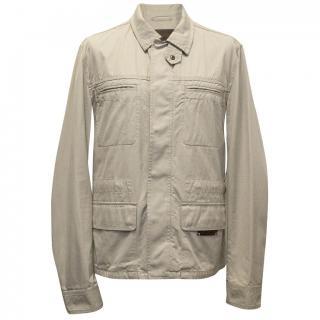 Dolce & Gabbana Beige Cotton Safari Style Jacket