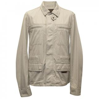 Dolce & Gabbana Beige Cotton Safari Style Jacket