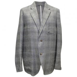 Richard James Linen Grey Blazer
